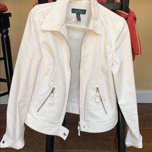 Ralph Lauren White denim jacket